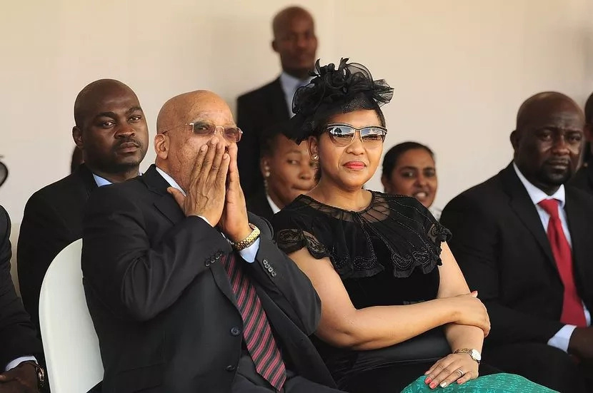 Zuma's wife Thobeka Madiba is a hot mamacita