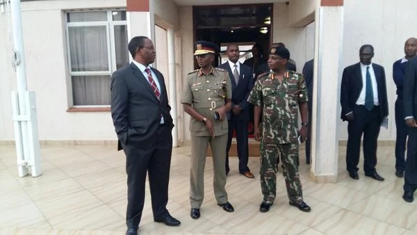 Top security officials receive CORD demos victims in Nairobi