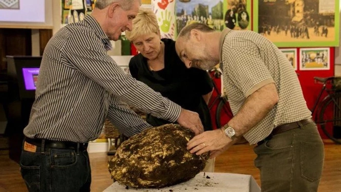Incredible! Archaeologists find 2000-year-old sphere of butter that is still EDIBLE (photos)