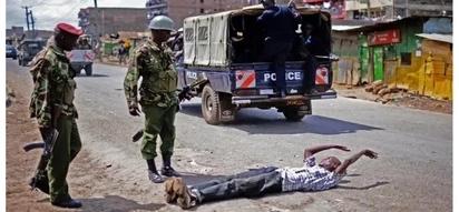 Afisa wa polisi, Hessy wa Kayole awaanika majambazi wawili na kuwapa onyo kali