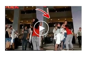 An Aggressive Fan Surprised Kathryn with a Hug and Kiss. Kathryn's Reaction will shock you