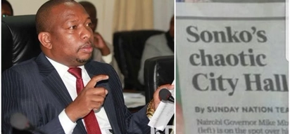 Sonko accuses Nation Media of soiling his name, threatens to sue