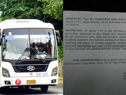 To those who are traveling from Quezon to Manila, beware of these hold-uppers!