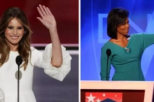 LOOK! Michelle Obama's 2008 speech made it to Melania Trump's speech [UPDATED]