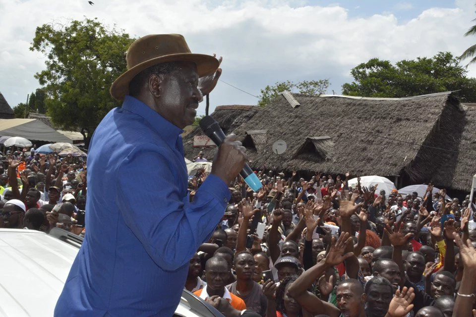 Raila Odinga no longer interested in the presidency- supporter