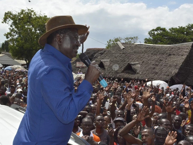 Raila terms Uhuru's Friday state corporations appointments cheap 2017 strategy