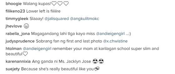 Andie Eigenmann posts throwback photos of Jaclyn Jose