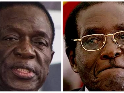 It's official! Emmerson Mnangagwa sworn in as Zimbabwe's new president