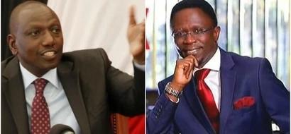 Leave Ababu Namwamba alone- Ruto blasts Raila's party