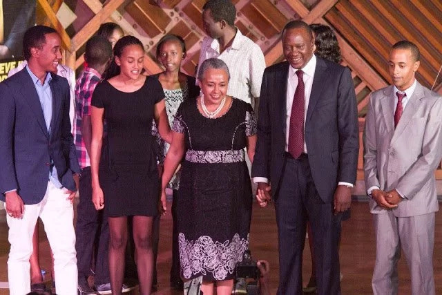 Uhuru Kenyatta Family Photos - From Wedding To Date