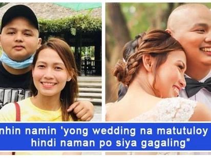Netizens, 'nagbayanihan' para sa kasal ng magkasintahang sinubok ng Leukemia