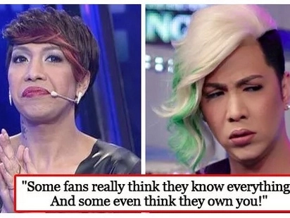 Nahihirapan din sila! Vice Ganda says celebrities are sinking into depression because of pressure from fans