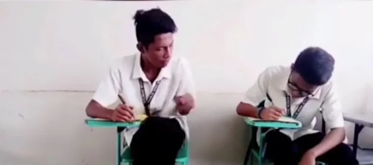 This Pinoy duo revealed different techniques of cheating in exams...this is so craazy!