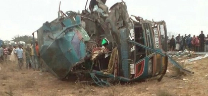 Three killed, several critically injured in accident en route from Mombasa
