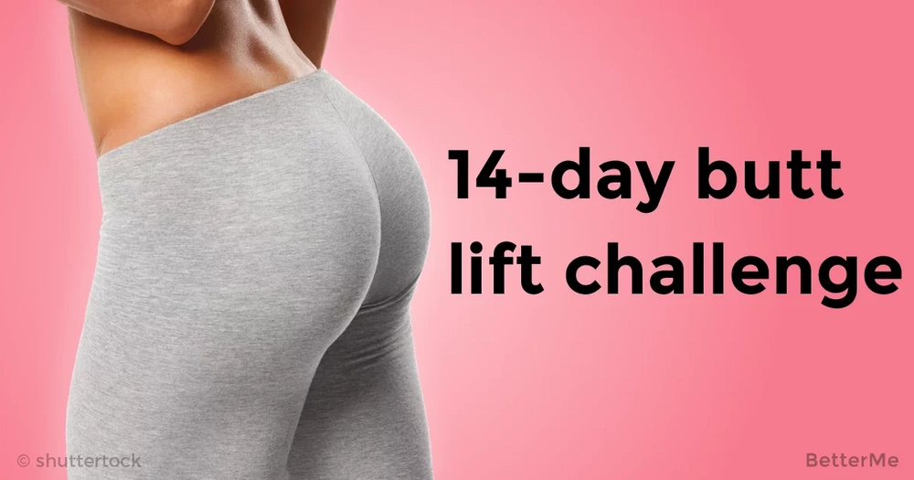 A 14-day butt lift challenge