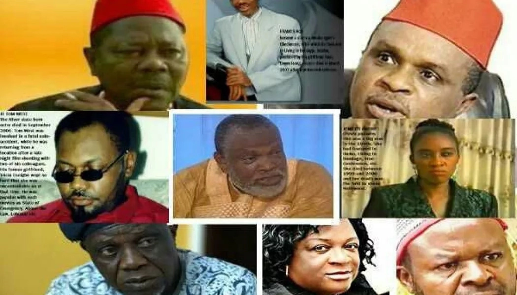 Nigerian Actors that Have Died