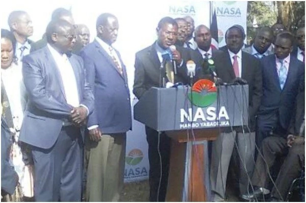 NASA MPs will not participate in parliament proceedings