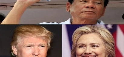 Trump, Clinton find common ground in condemning Duterte's Obama insult