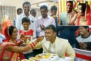 Strange love! Woman whose face was totally burned in acid attack gets married to boyfriend from heaven (photos)