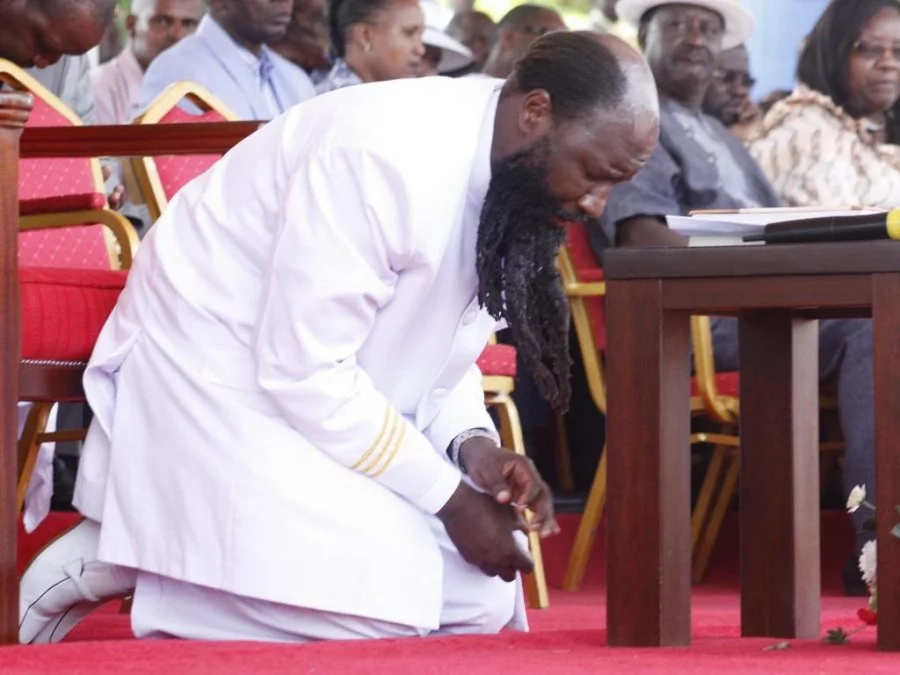Did Prophet Owuor perform miracles in the sky?