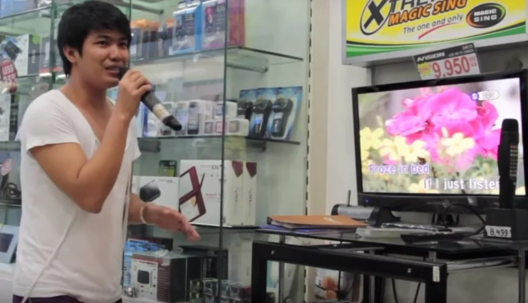 Talented man shocks everyone with Celine Dion impersonation