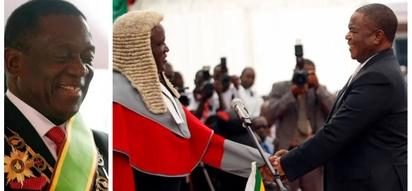 Retired army general who led coup against Mugabe now Zimbabwe's vice president