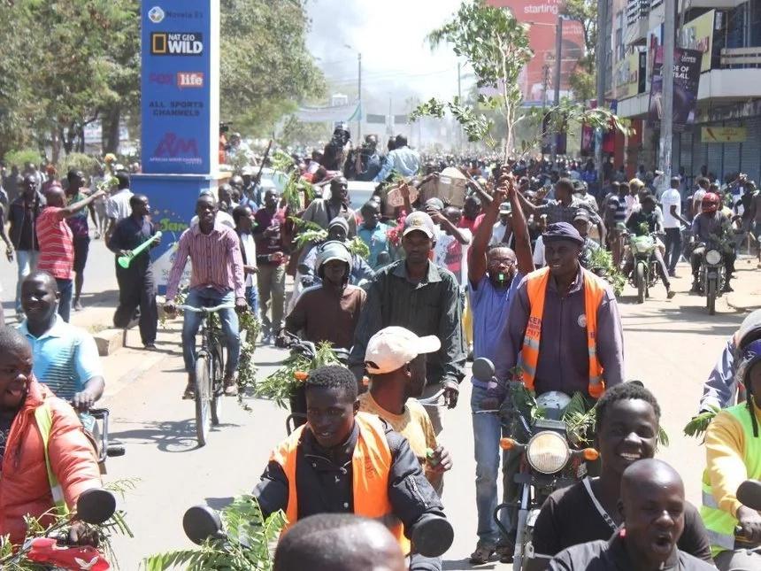 Eye witnesses claim man who killed form 4 student in Kisumu had ...
