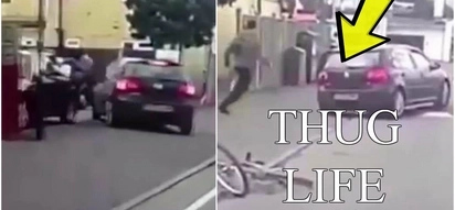 Invincible man gets hard hit by car, and then gets his sweetest revenge