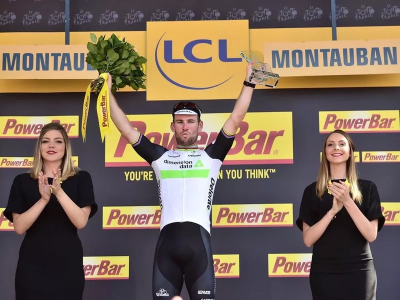 Cavendish se impuso en la sexta etapa del Tour, Nairo no pierde posiciones