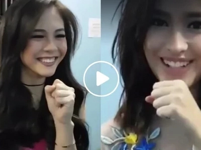 Gorgeous Liza Soberano all smiles during practice with Janella Salvador