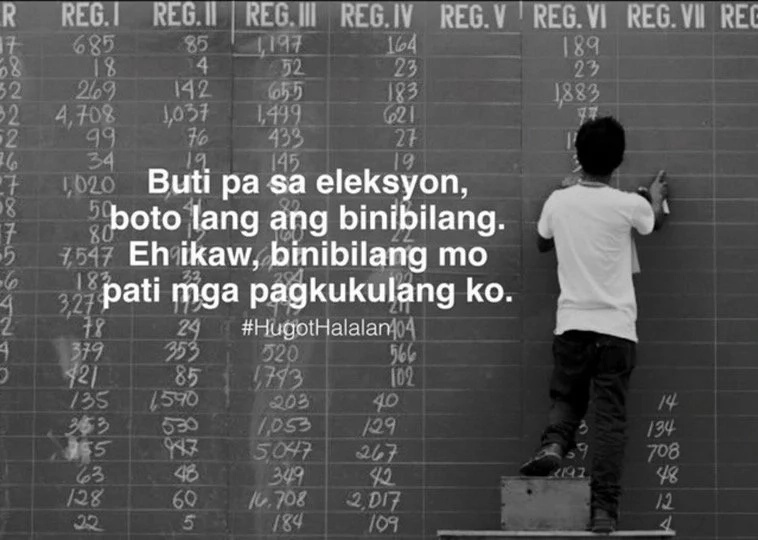 Elections hugot lines