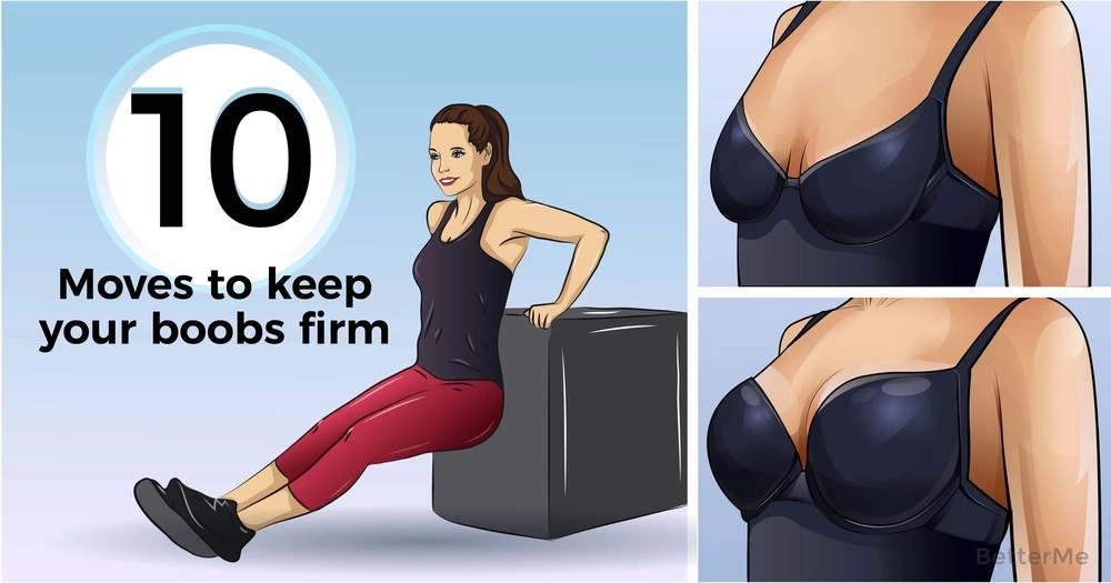 10 moves to keep your boobs firm and perky