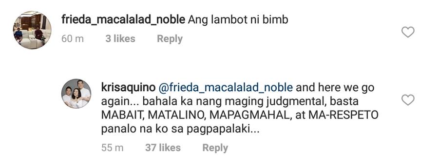 'Bahala ka dyan maging judgmental!' Kris Aquino pagod ng makipag-sagutan sa bashers ni Bimby