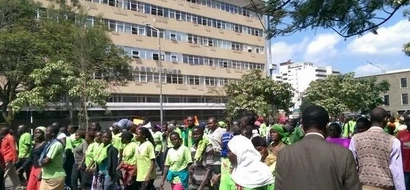 UPDATE: Youths Protest Over NYS Allegations