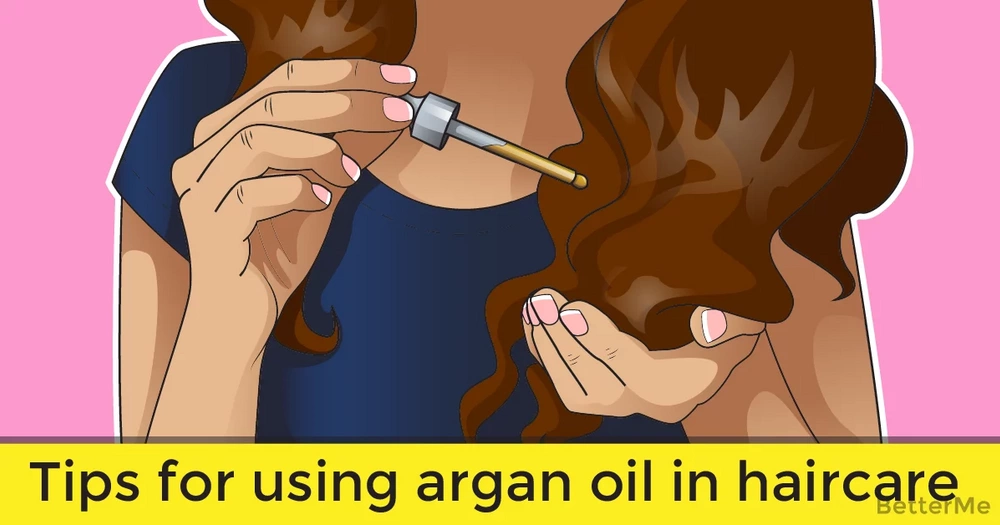Tips for using argan oil in haircare