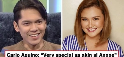 May inamin siya! Carlo Aquino admits Angelica Panganiban occupies a special place in his heart