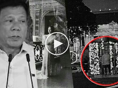 The ghosts in Malacañang Palace are real, according to President Duterte
