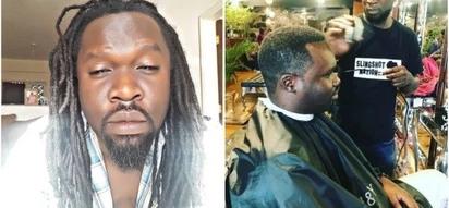 Radio Maisha presenter shaves dreadlocks after 7 solid years