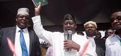 Raila achukua hatua ya kwanza baada ya kuapishwa, Uhondo kamili
