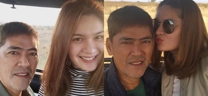 Vic Sotto and Pauleen Luna go in the wild with their safari vacation