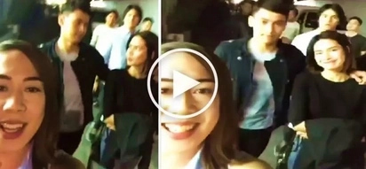 Sweet video of Enchong Dee putting his arm around Erich Gonzales while walking together shocks netizens!