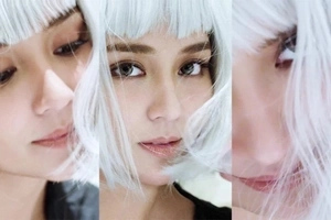 Dalang dala niya! Kathryn Bernardo dyes her hair white for a mysterious shoot
