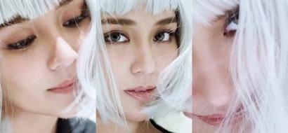 Dalang dala niya! Kathryn Bernardo dyes her hair white for a mysterious shoot