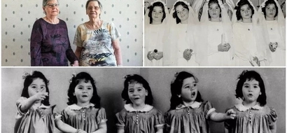 Sad! Identical QUINTUPLETS taken away from home at 4 months old, put on display in circus (photos)