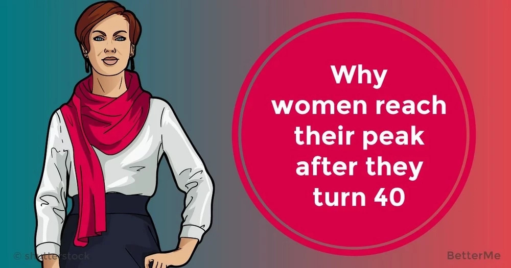 Why women reach their peak after they turn 40