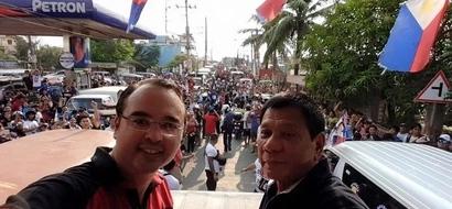 Cayetano secures TRO on anti-Duterte Ad