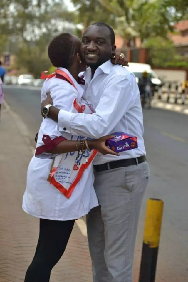 This Kenyan girl hugged 877 Kenyans in Nairobi and her reason will make you believe in humanity