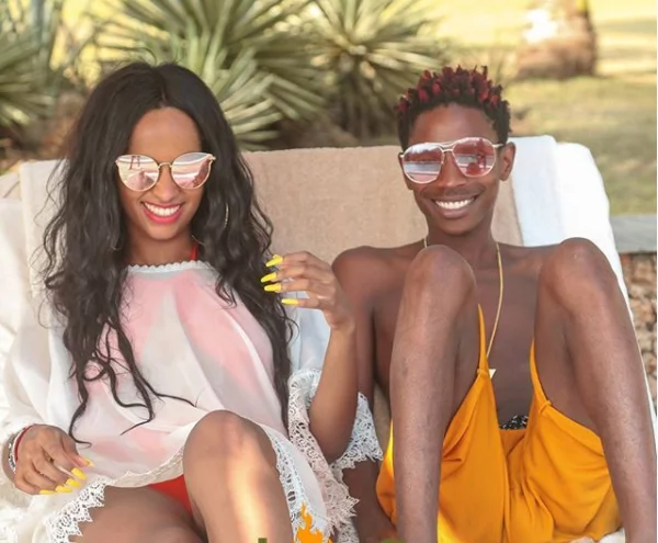 Comedian Eric Omondi mistakenly shows off his weapon of mass destruction and it unbelievably big