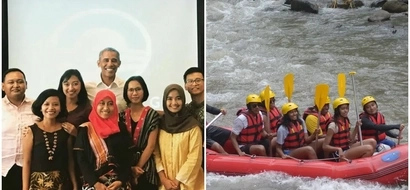 Obama still making a difference while on vacation as he meets young Indonesian leaders