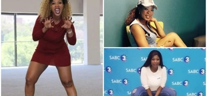 Skolopad shows off her 'classy' side at SABC3 presenter search auditions